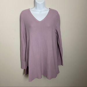 Eileen Fisher Organic Cotton Tunic Sweater